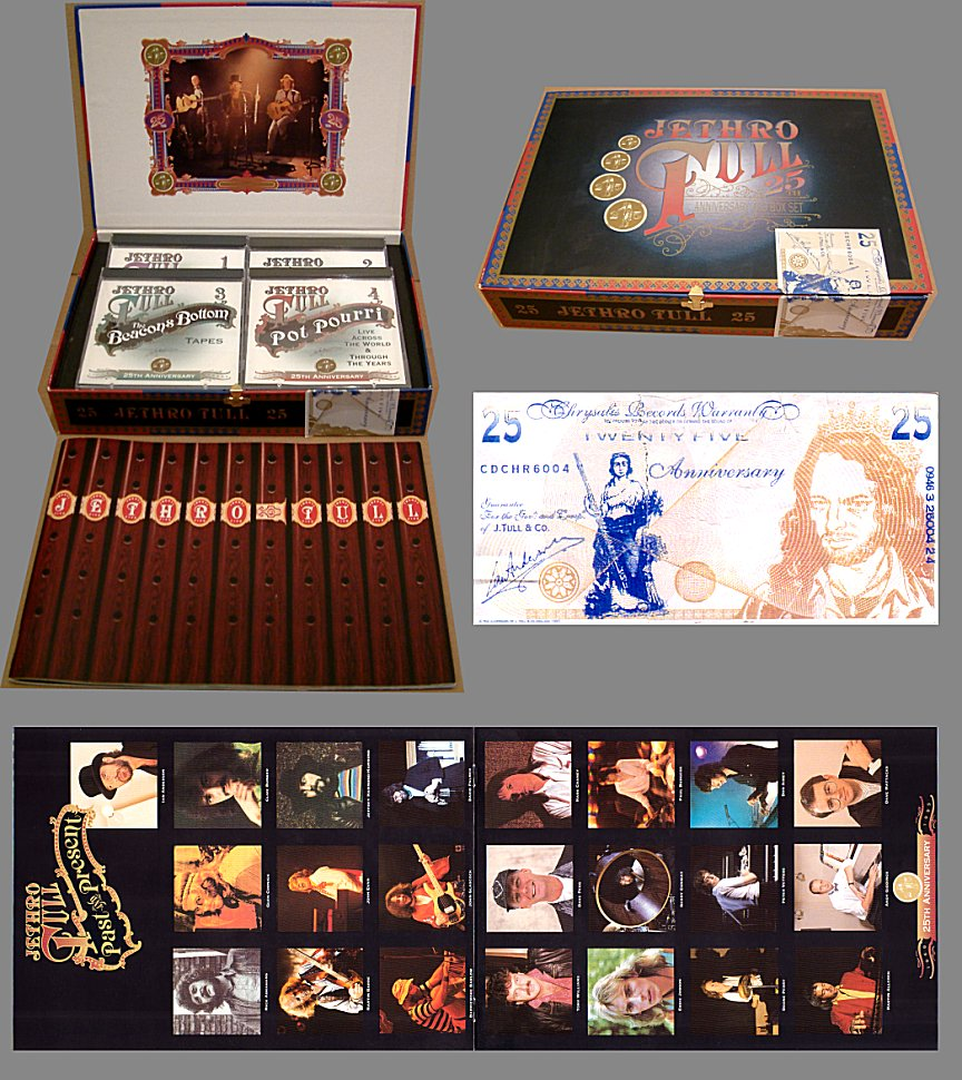 Electrocutas Com The Jethro Tull Archive Albums 25th