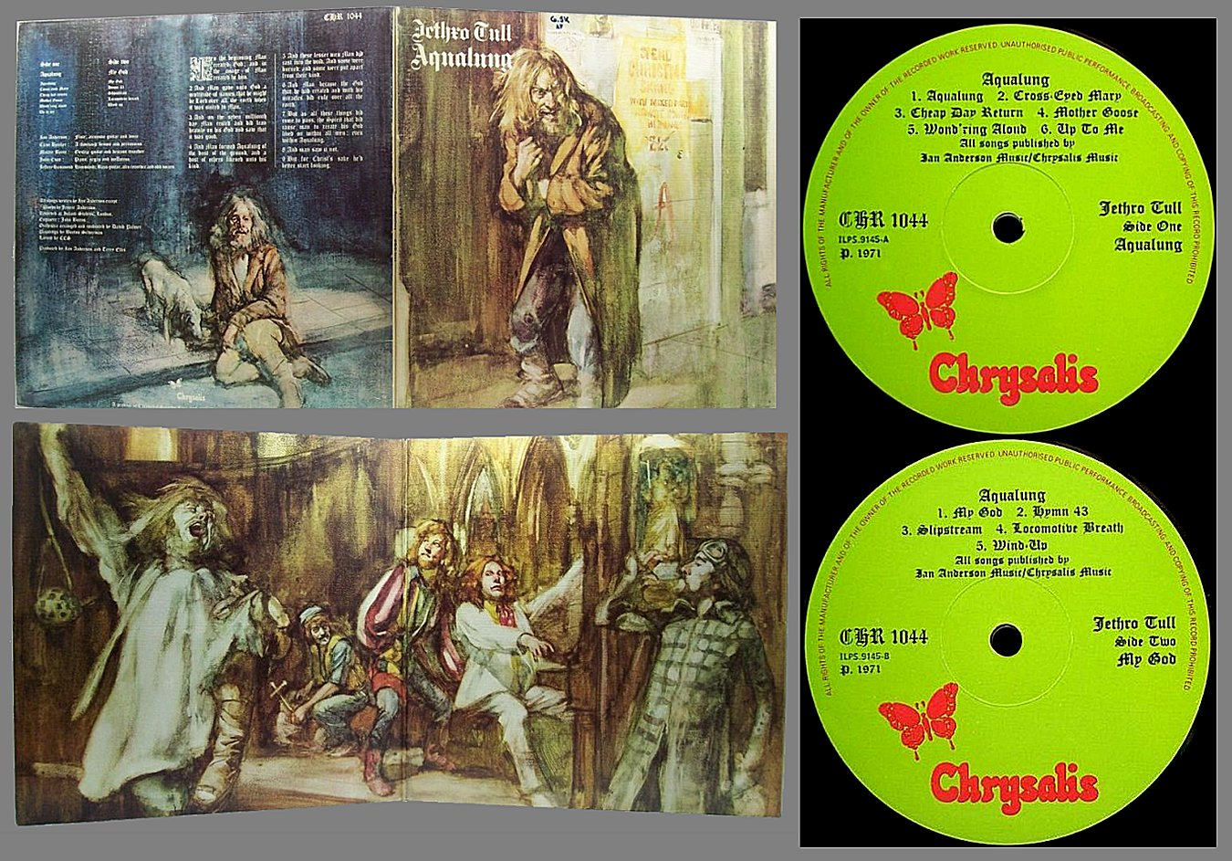Jethro Tull A Song For Jeffrey One For John Gee