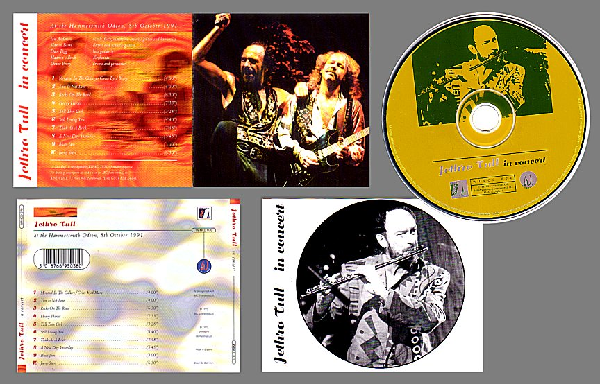 Electrocutas Com The Jethro Tull Archive Albums In