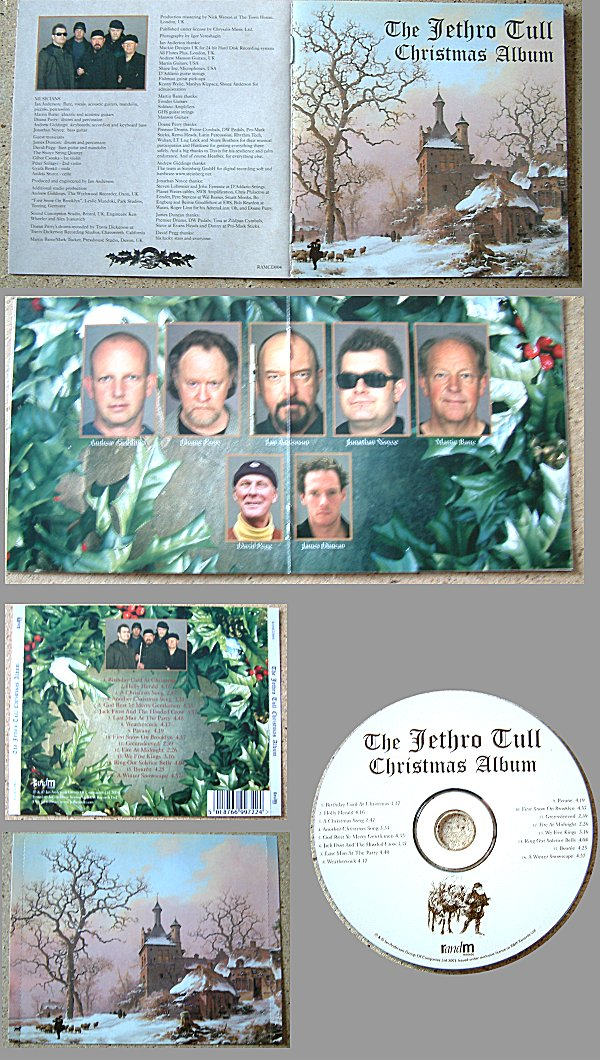 ELECTROCUTAS.COM - The Jethro Tull Archive - albums - THE CHRISTMAS ...