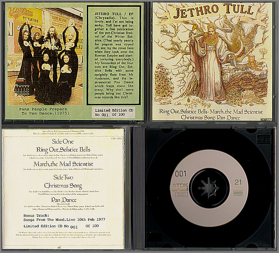JETHRO TULL Archive & Reference centre - electrocutas.com - CD ...