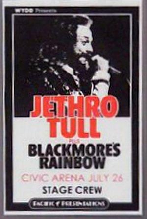 Spectrum Tampa Fl >> JETHRO TULL - TOUR DATE HISTORY - 1976